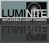 Luminite inflatable light tower